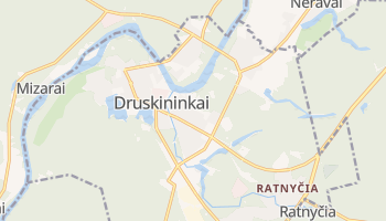Druskininkai online map