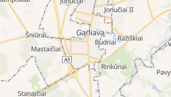 Garliava online map
