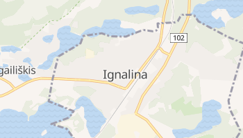 Ignalina online map