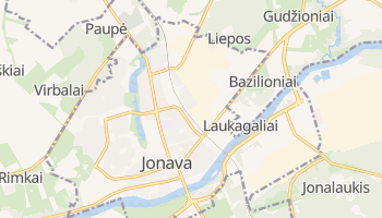 Jonava online map