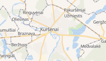 Kursenai online map