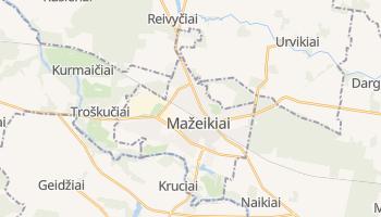 Mazeikiai online map