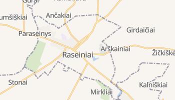 Raseiniai online map