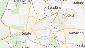 Silute online map