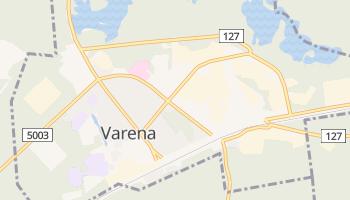 Varena online map