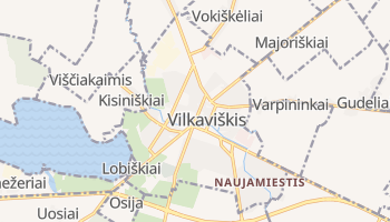 Vilkaviskis online map