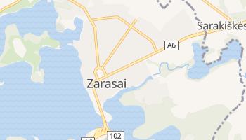 Zarasai online map