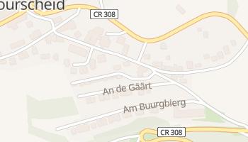Bourscheid online map