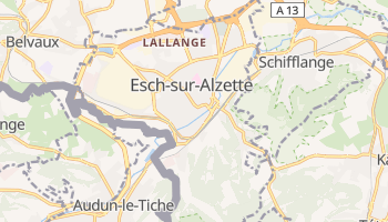 Esch-sur-Alzette online map