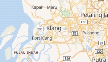 Klang online map