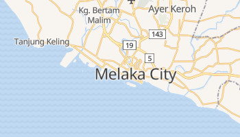 Malacca online map