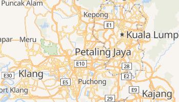 Petaling Jaya online map