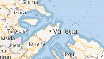 Valletta online map