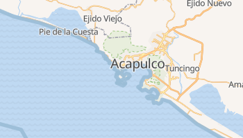 Acapulco online map