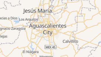 Aguascalientes online map