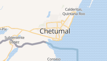 Chetumal online map