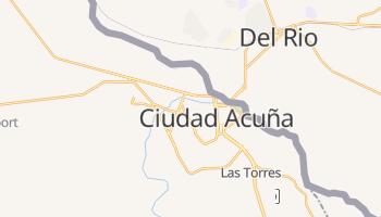 Ciudad Acuna online map