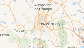 Ciudad De Mexico online map