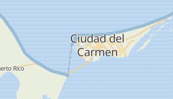 Ciudad Del Carmen online map