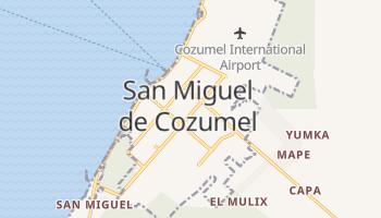 Cozumel online map