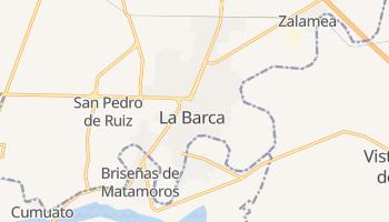 La Barca online map
