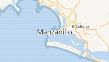 Manzanillo online map