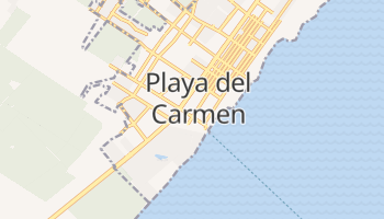 Playa Del Carmen online map