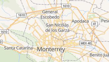 San Nicolas De Los Garza online map