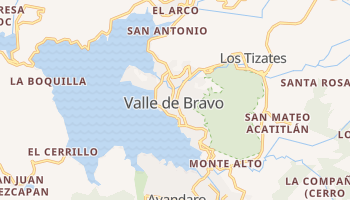 Valle De Bravo online map