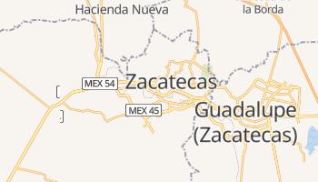 Zacatecas online map