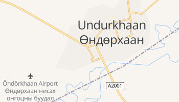 Ondorhaan online map