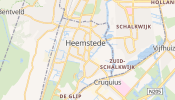 Heemstede online map