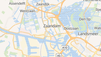 Zaandam online map