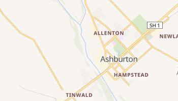 Ashburton online map
