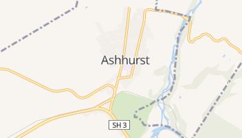 Ashhurst online map