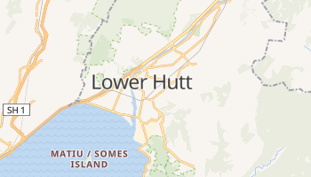 Lower Hutt online map