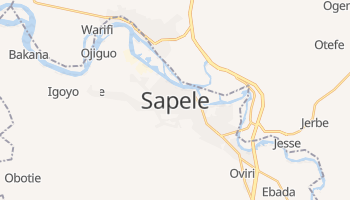 Sapele online map