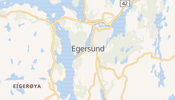 Egersund online map