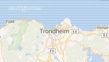 Trondheim online map