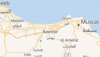 Muscat online map