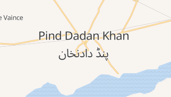 Pind Dadan Khan online map
