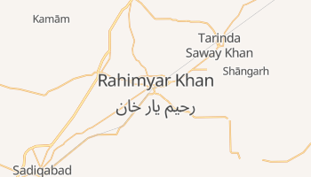 Rahimyar Khan online map
