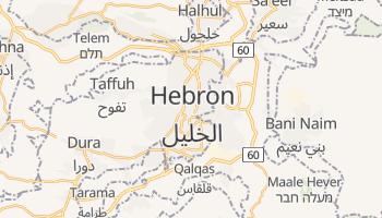 Hebron online map
