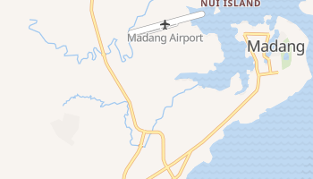 Madang online map