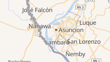 Asuncion online map