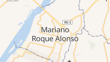 Mariano Roque Alonso online map