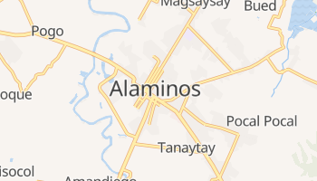 Alaminos online map