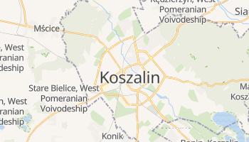 Koszalin online map