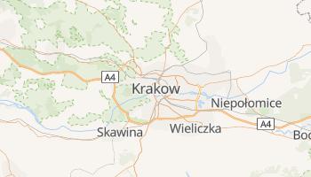 Krakow online map