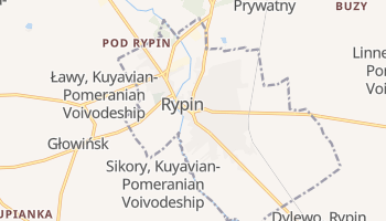 Rypin online map